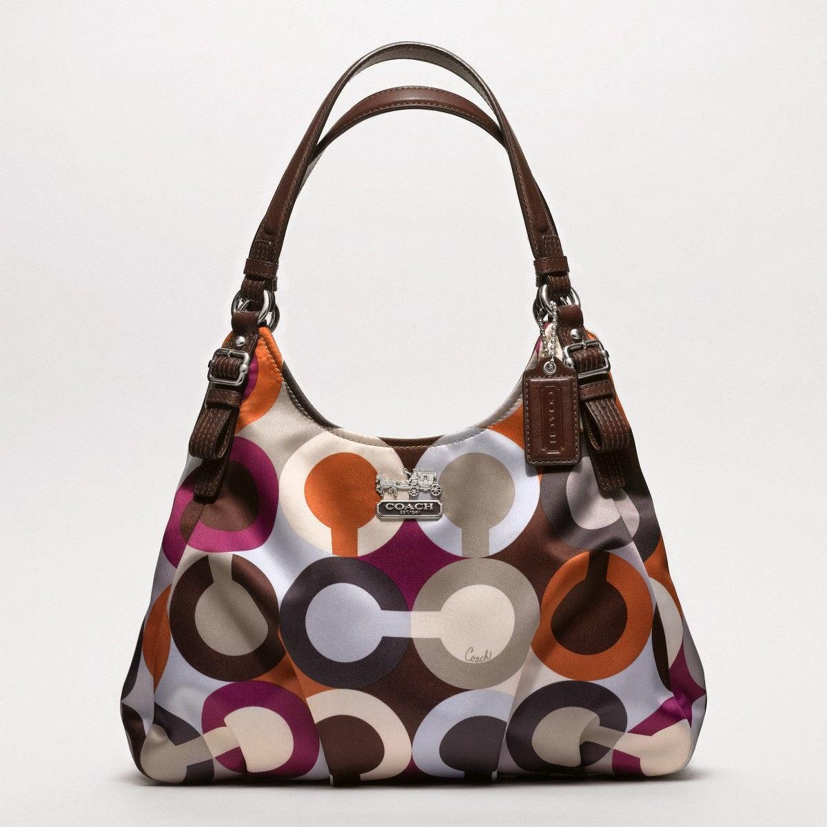 6c180f737c42 DIY Friday  How I Clean My Coach Madison Graphic Op Art Metallic Maggie Bag